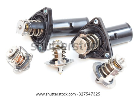 Parts Car Engine Thermostat Engine Cooling Stock Photo (Royalty Free ...