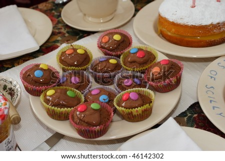 Party Cakes - stock photo