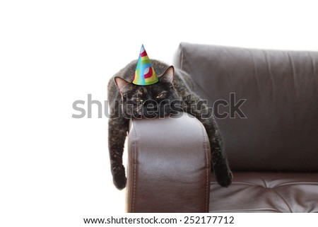 party hangover - stock photo