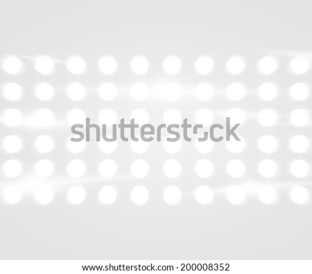 Party Lights White Background - stock photo
