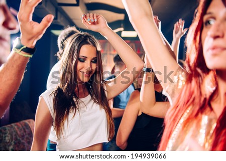 Party people - stock photo