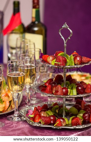 Party snack - stock photo