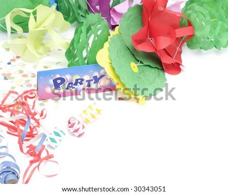 Party whistle - stock photo