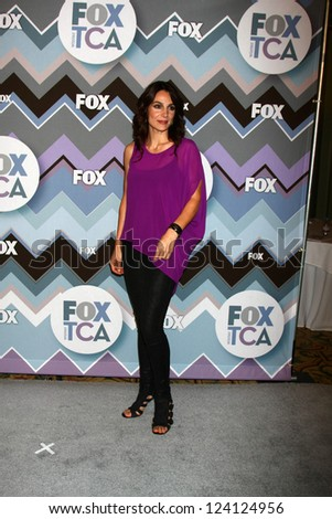 PASADENA, CA - JAN 8:  Annie Parisse attends the FOX TV 2013 TCA Winter Press Tour at Langham Huntington Hotel on January 8, 2013 in Pasadena, CA - stock photo