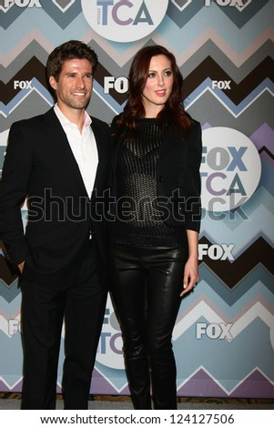 PASADENA, CA - JAN 8:  Kye Martino, Eva Amurri Martino attends the FOX TV 2013 TCA Winter Press Tour at Langham Huntington Hotel on January 8, 2013 in Pasadena, CA - stock photo