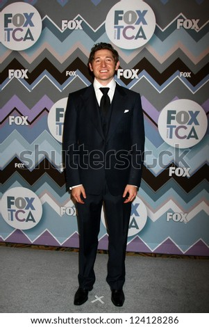 PASADENA, CA - JAN 8:  Lucas Neff attends the FOX TV 2013 TCA Winter Press Tour at Langham Huntington Hotel on January 8, 2013 in Pasadena, CA - stock photo