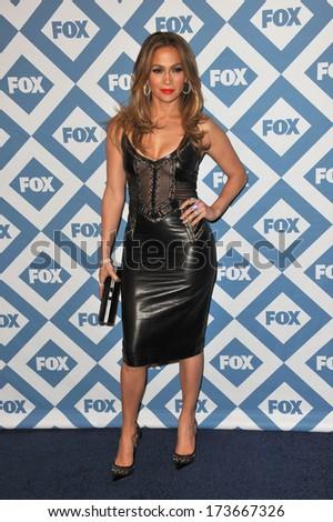 PASADENA, CA - JANUARY 13, 2014: Jennifer Lopez at the Fox TCA All-Star Party at the Langham Huntington Hotel, Pasadena.  - stock photo