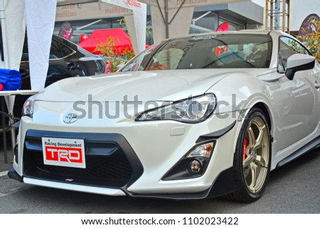 PASIG, PH   MAY 13: Toyota 86 Sports Car On May 13, 2018