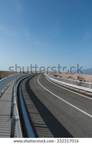 Paski bridge (Pag bridge)