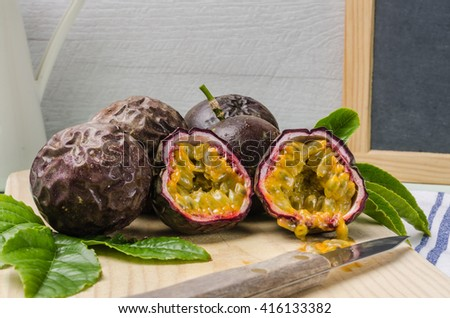 how to cook passion fruit leaves