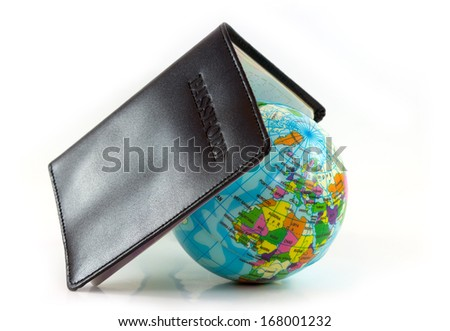 Passport concept travel and the world - stock photo
