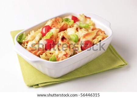 Pasta casserole - stock photo