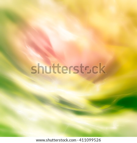 Pastel abstract background. Completed in delicate floral spring joyful palette. Very blurry textures.Gives the mood of spring awakening - stock photo