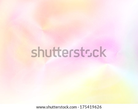 pastel colored light texture in shades of orange and pink. - stock photo