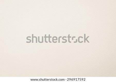 Pastel cream white tone water color paper texture: Water colour paper textured background in light beige creme white tone   - stock photo