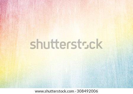 pastel  gradient color abstract background, with grunge texture - stock photo
