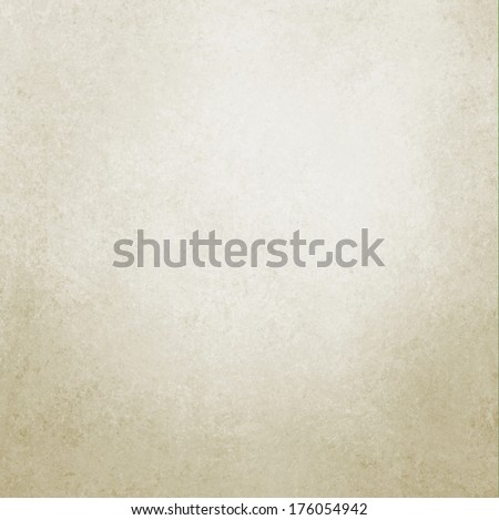 pastel white background brown beige or tan color design, vintage grunge texture, web template background layout idea, elegant printed material background, cream or ivory graphic art brochure poster ad - stock photo