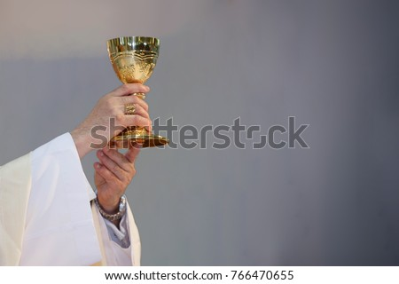 Pastor hold wine glass mass church stock photo 766470655 pastor hold wine glass in mass church mass catholic ccuart Gallery