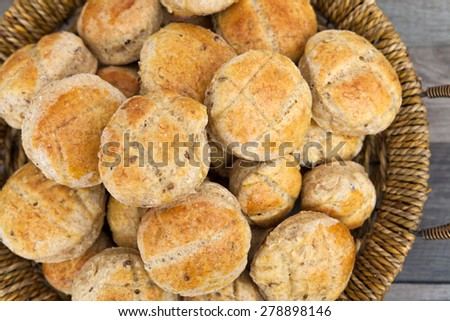 Pastry rolls - stock photo