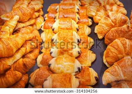 Pastry shop - stock photo