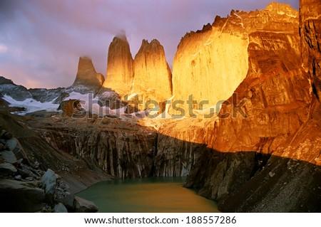 Patagonia - stock photo