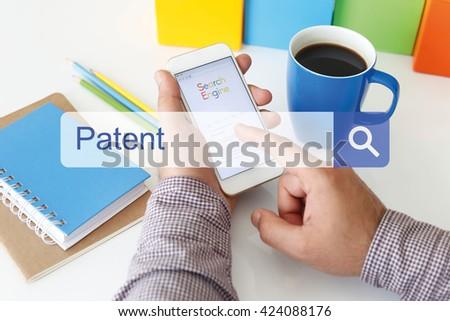 Patent Concept - stock photo