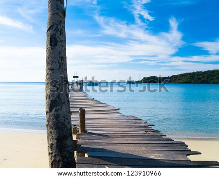 Path filled with Love Boardwalk Admire