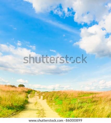 Path Forward Way - stock photo