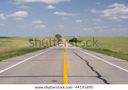 path moving forward - stock photo