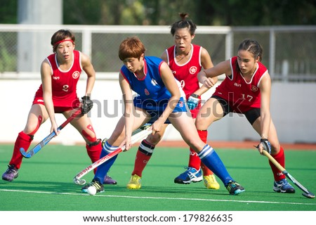 stock photo pathum thani thailand feb yang wan wen blue of taipei in action during women s asian games 179826635 - Asian Games Qualifiers