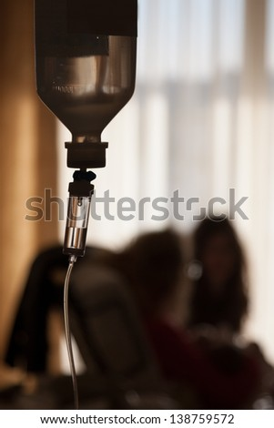 Patients drugs in clinic room hospital - stock photo