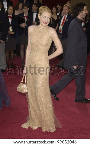 PATRICIA CLARKSON at the 76th Annual Academy Awards in Hollywood. February 29, 2004
