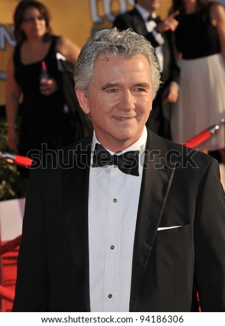 Patrick Duffy at the 17th Annual Screen Actors Guild Awards at the Shrine Auditorium, Los Angeles. January 29, 2012  Los Angeles, CA Picture: Paul Smith / Featureflash