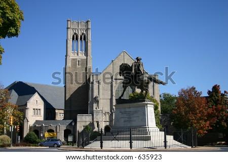 Patrick Henry Monument - stock photo