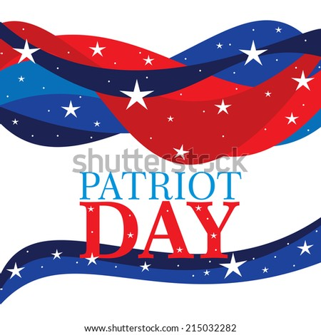 Patriot Day - stock photo