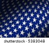 Patriotic Star Background - stock photo