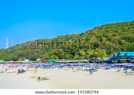 Pattaya beach - stock photo