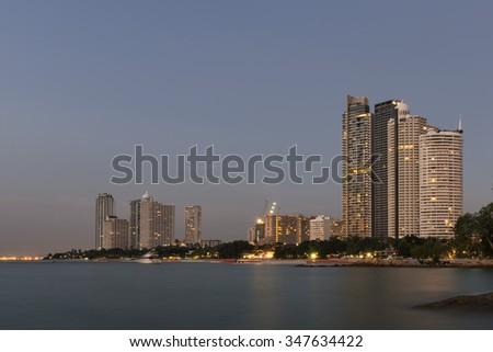Pattaya city of Thailand. - stock photo