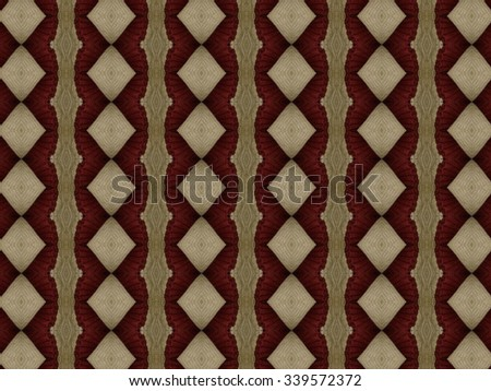 Pattern made out of thick woven fabric with rich texture  - stock photo