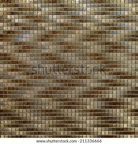 Pattern mosaic luxury style - stock photo