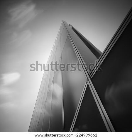 Pattern of a skyscraper windows  - stock photo