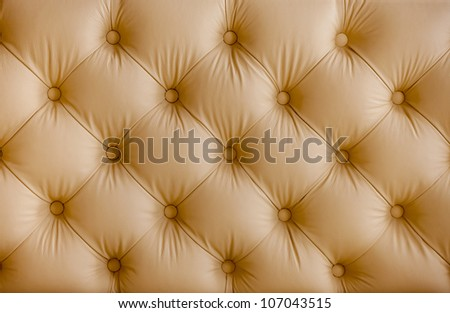 Pattern of beige leather structure