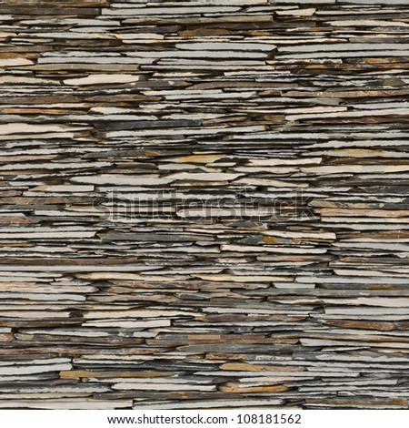 Decorative Stone Walls pattern decorative slate stone wall surface stock photo 108181562