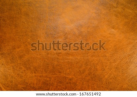Pattern of Gold Leather Texture. - stock photo