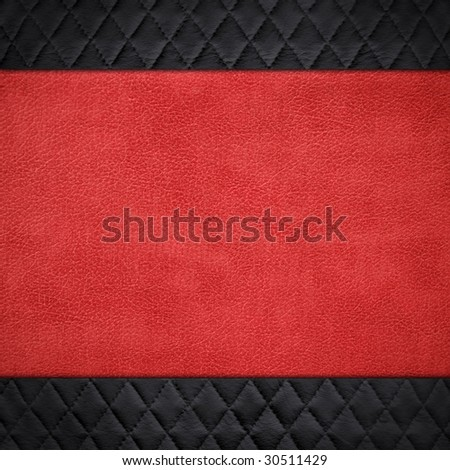 pattern of leather background - stock photo