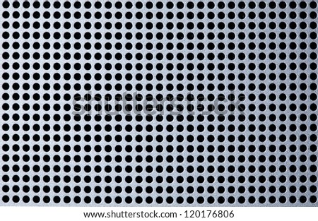 Pattern of metal mesh, dot background