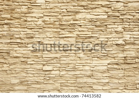 Pattern of Modern Brick Wall Surfaced - stock photo