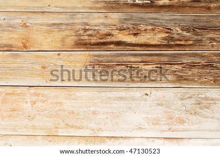 pattern of obsolete wood plank - stock photo