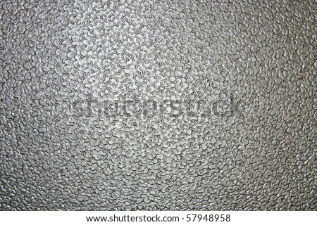 Pattern of seamless clear white Glass brick wall surface texture in Bathroom, Close up - stock photo