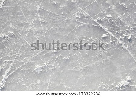 Pattern of the ice surface background - stock photo
